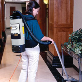 Triple S (SSS) Commercial Vacuum Cleaners - SSS Speedster 1000H Backpack Commercial HEPA Vacuum Cleaner