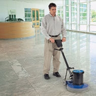 Windsor Storm Series Floor Cleaning Machine With 3M Cleaning Pads