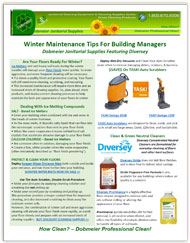 Dobmeier Winter Floor Cleaning Guide - FREE e-Book