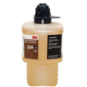 3M HB Quat Disinfectant Cleaner Concentrate SKU#3M-25HEA, 3M HB Quat Disinfectant Cleaner Concentrate SKU#3M-25HEA
