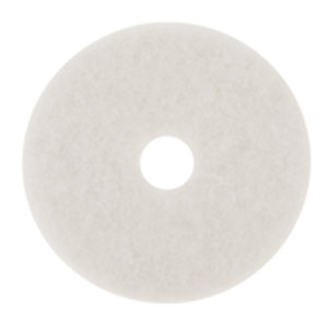 3M 27in 4100 White Super Polish Floor Machine Pad 5 Case SKU#3M-7000126172, 3M 27in 4100 White Super Polish Floor Machine Pad 5 Case SKU#3M-7000126172