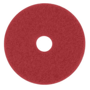 3M 11in 5100 Red Buffer Floor Machine Pad 5 Case SKU#3M-7000045910, 3M 11in 5100 Red Buffer Floor Machine Pad 5 Case SKU#3M-7000045910