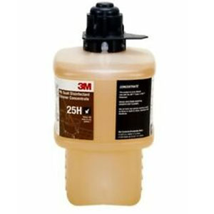 3M 25H HB Quat Disinfectant Cleaner Concentrate 6x 2Liter SKU#3M-7000053093, 3M 25H HB Quat Disinfectant Cleaner Concentrate 6x 2Liter SKU#3M-7000053093