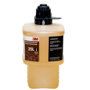 3M 25L HB Quat Disinfectant Cleaner Concentrate 6x 2Liter SKU#3M-7000053094, 3M 25L HB Quat Disinfectant Cleaner Concentrate 6x 2Liter SKU#3M-7000053094