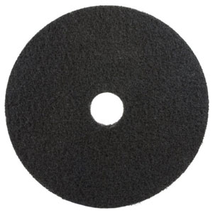 3M 12in 7200 Black Stripper Floor Machine Pad 5 Case SKU#3M-7000028441, 3M 12in 7200 Black Stripper Floor Machine Pad 5 Case SKU#3M-7000028441