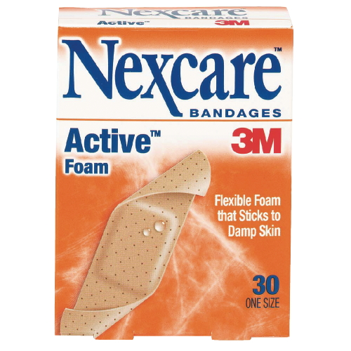 3M Nexcare Active Flexible Foam Bandages SKU#MCO512-30, 3M Nexcare Active Flexible Foam Bandages SKU#MCO512-30