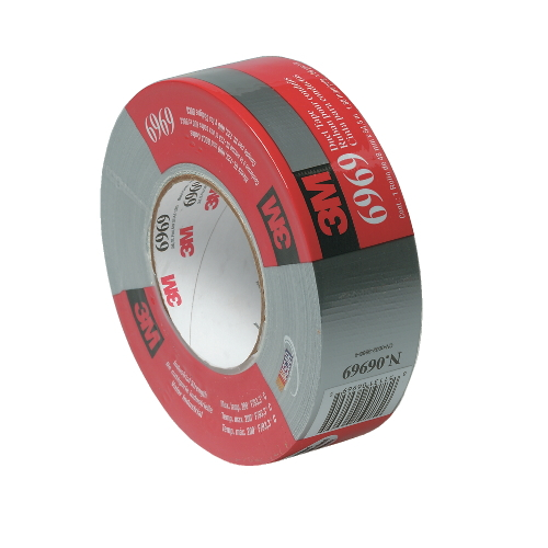 3M Polyethylene-Coated Cloth Duct Tape SKU#MCO6969-2, 3M Polyethylene-Coated Cloth Duct Tape SKU#MCO6969-2