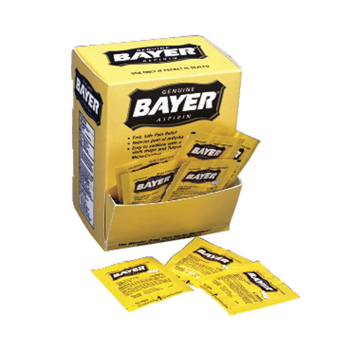 Bayer Aspirin SKU#ACE12408, Acme United Corporation Bayer Aspirin SKU#ACE12408