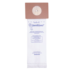 Janitized Vacuum Cleaner Filter Bag For Nobels-Tennant-Castex Vacs SKU#APCJAN-CXLT-2, Janitized Vacuum Cleaner Filter Bags SKU#APCJAN-CXLT-2 For Nobels-Tennant-Castex