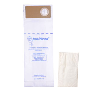 Janitized Vacuum Cleaner Filter Bag SKU#APCJAN-NFCPTW-2 For Nilfisk-Advance, Janitized Vacuum Cleaner Filter Bags SKU#APCJAN-NFCPTW-2 For Nilfisk-Advance