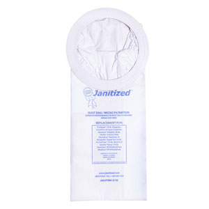 Janitized Vacuum Cleaner Filter Bag For ProTeam Vacs SKU#APCJAN-PTMV-2, Janitized Vacuum Cleaner Filter Bags SKU#APCJAN-PTMV-2 For ProTeam