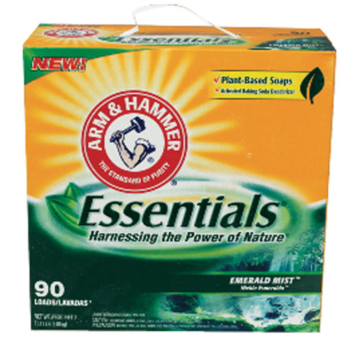 Arm & Hammer Essentials Powder Laundry Detergent SKU#CDC06930, Arm & Hammer Essentials Powder Laundry Detergent SKU#CDC06930
