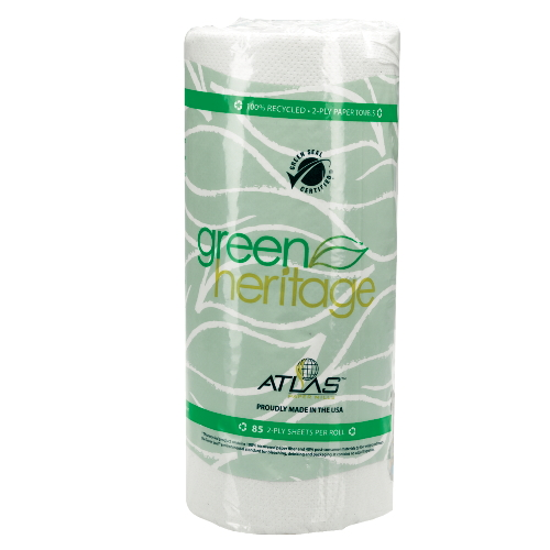 Green Approved Perforated Paper Towel Rolls