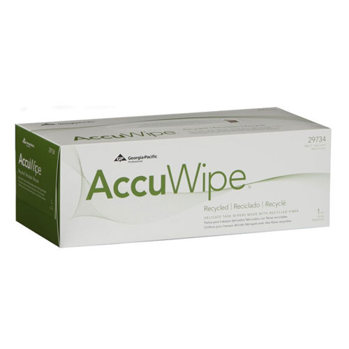 AccuWipe Recycled 1Ply Delicate Task Wipers SKU#GPC29734-03, Georgia Pacific AccuWipe Recycled 1Ply Delicate Task Wipers SKU#GPC29734-03