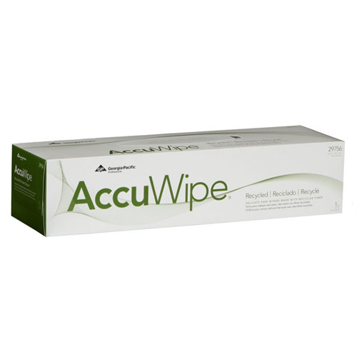 AccuWipe Recycled 1Ply Delicate Task Wipers SKU#GPC29756-03, Georgia Pacific AccuWipe Recycled 1Ply Delicate Task Wipers SKU#GPC29756-03