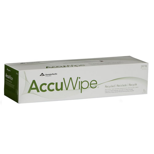AccuWipe Recycled 3Ply Delicate Task Wipers SKU#GPC29778-03, Georgia Pacific AccuWipe Recycled 3Ply Delicate Task Wipers SKU#GPC29778-03