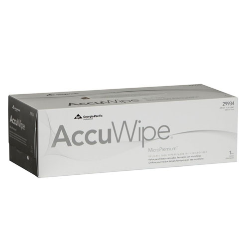 AccuWipe MicroPremium 1Ply Light Duty Technical Cleaning Wipers SKU#GPC29934, Georgia Pacific AccuWipe MicroPremium 1Ply Light Duty Technical Cleaning Wipers SKU#GPC29934