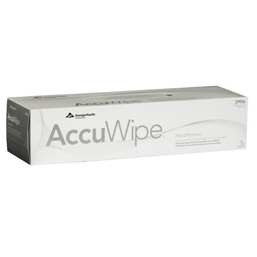 AccuWipe MicroPremium 1Ply Delicate Task Wipers SKU#GPC29956, Georgia Pacific AccuWipe MicroPremium 1Ply Delicate Task Wipers SKU#GPC29956