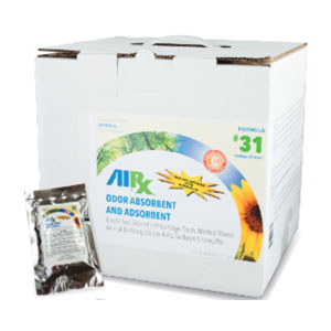 AIRX RX31 Trash & Garbage Super Sorbent Foil Packs SKU#RX31-10FP, Bullen AIRX RX31 Trash & Garbage Super Sorbent Foil Packs SKU#RX31-10FP