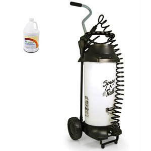 AirX Spray N Roll II Dual Tip Disinfectant Pump Spray System SKU#RX-SprayNRoll, Bullen AirX Spray N Roll II Dual Tip Disinfectant Pump Spray System SKU#RX-SprayNRoll