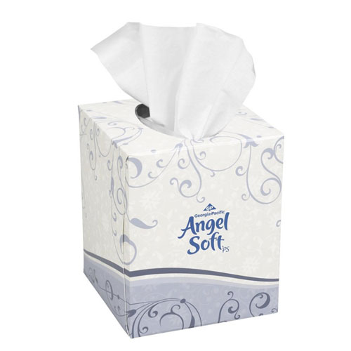 Angel Soft ps Premium Facial Tissue, Cube Box SKU#GPC46580, Georgia Pacific Angel Soft ps Premium Facial Tissue, Cube Box SKU#GPC46580