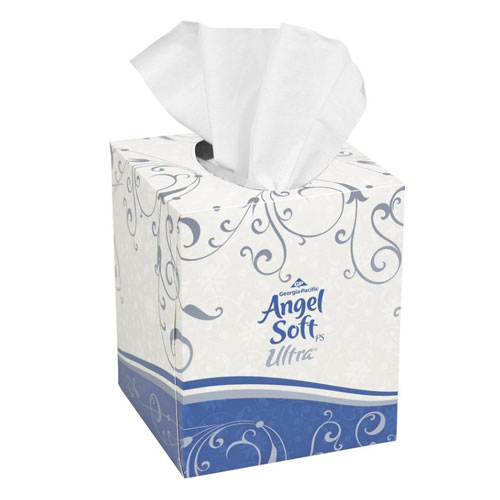 Angel Soft ps Ultra Premium Facial Tissue, Cube Box SKU#GPC46560, Georgia Pacific Angel Soft ps Ultra Premium Facial Tissue, Cube Box SKU#GPC46560