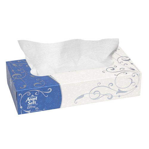Angel Soft ps Ultra Premium Facial Tissue, Flat Box SKU#GPC48560, Georgia Pacific Angel Soft ps Ultra Premium Facial Tissue, Flat Box SKU#GPC48560