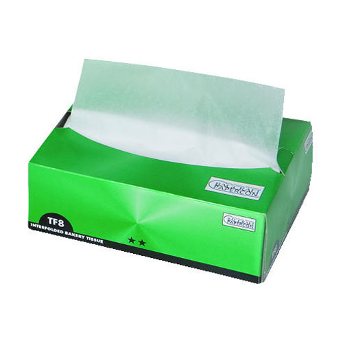Dry Wax Bakery Tissue 8X10.75 Interfold Pop-Up SKU#BGC010008, Packaging Dynamics Corp Dry Wax Bakery Tissue 8X10.75 Interfold Pop-Up SKU#BGC010008