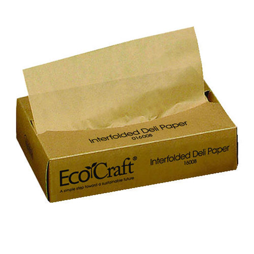 Eco-Wax Soy Blend Deli Paper 8X10.75 SKU#BGC016008, Packaging Dynamics Corp Eco-Wax Soy Blend Deli Paper 8X10.75 SKU#BGC016008