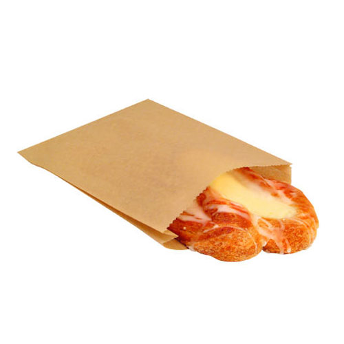 Ecopac Grease Resist Paper Sandwich Bag 6.5X1X8 SKU#BGC300100, Packaging Dynamics Corp Ecopac Grease Resist Paper Sandwich Bags 6.5X1X8 SKU#BGC300100