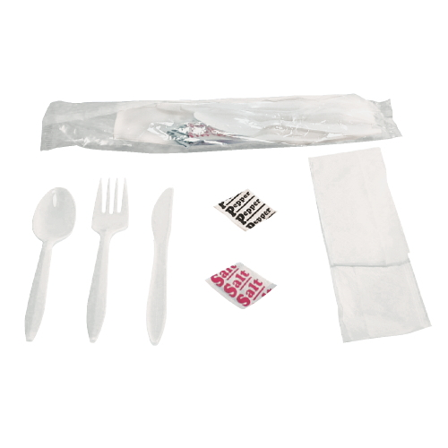 Boardwalk Wrapped Cutlery Kit SKU#BWK6KITMW, Boardwalk Wrapped Cutlery Kits SKU#BWK6KITMW