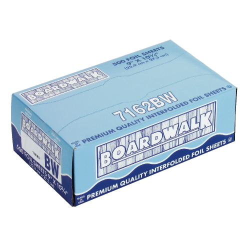 Boardwalk Pop-Up Aluminum Foil Sheet SKU#BWK7162, Boardwalk Pop-Up Aluminum Foil Sheets SKU#BWK7162