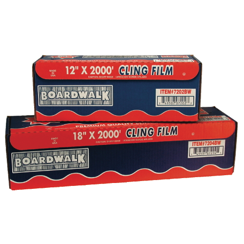 Boardwalk PVC Food Wrap Film SKU#BWK7202, Boardwalk PVC Food Wrap Film SKU#BWK7202