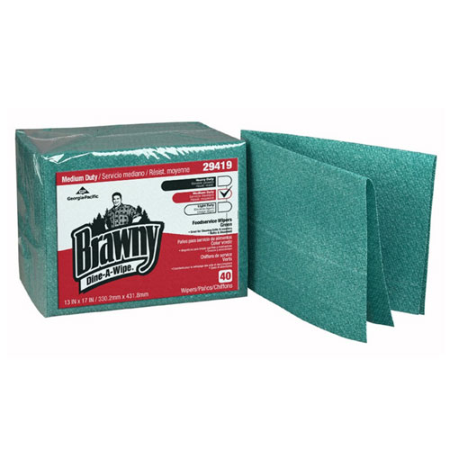Brawny Dine-A-Wipe Foodservice Busing Towel (Airlaid QuarterFold) SKU#GPC29419, Georgia Pacific Brawny Dine-A-Wipe Foodservice Busing Towel (Airlaid QuarterFold) SKU#GPC29419
