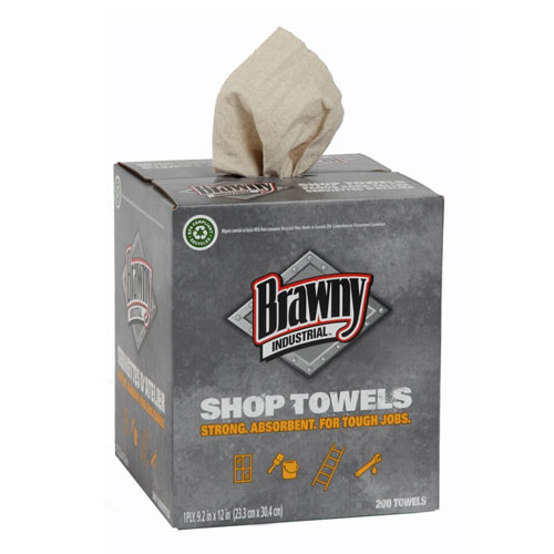Brawny Industrial MultiPurpose Medium Duty DRC Shop Towels SKU#GPC20054, Georgia Pacific Brawny Industrial MultiPurpose Medium Duty DRC Shop Towels SKU#GPC20054