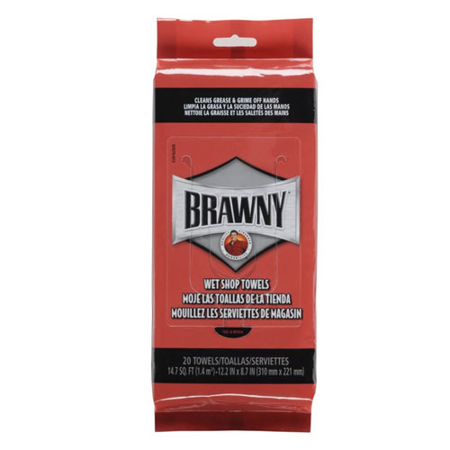 Brawny Industrial Wet Shop Towels Flex Pack SKU#GPC21920, Georgia Pacific Brawny Industrial Wet Shop Towels Flex Pack SKU#GPC21920