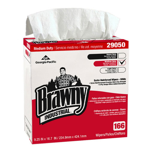 Brawny Industrial 4Ply Scrim Reinforced Paper Wipers SKU#GPC29050-03, Georgia Pacific Brawny Industrial 4Ply Scrim Reinforced Paper Wipers SKU#GPC29050-03