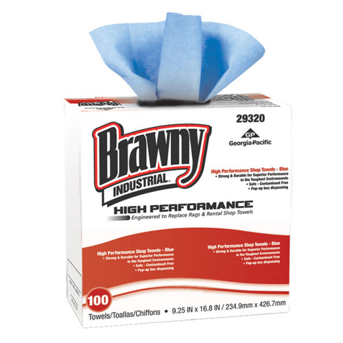 Brawny Industrial High Performance Shop Towels SKU#GPC29320, Georgia Pacific Brawny Industrial High Performance Shop Towels SKU#GPC29320