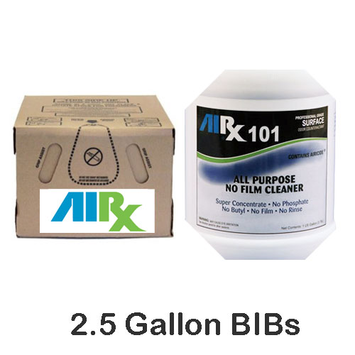AIRX RX101 All Purpose Odor Counteractant Cleaner BIBs SKU#RX101-BIB, Bullen AIRX RX101 All Purpose Odor Counteractant Cleaner BIBs SKU#RX101-BIB