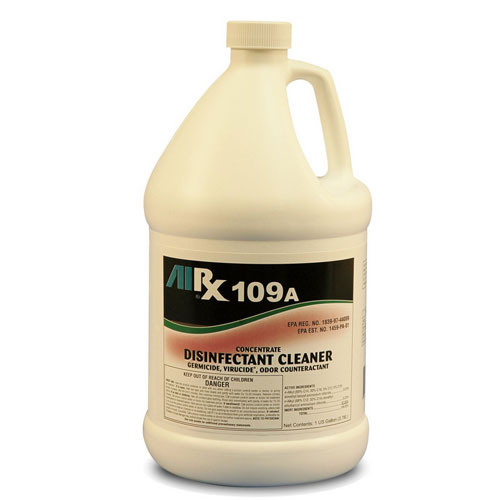 AIRX RX109A Hospital Disinfectant Virucidal Cleaner Gallon SKU#RX109A-1G, Bullen AIRX RX109A Hospital Disinfectant Virucidal Cleaner Gallon SKU#RX109A-1G