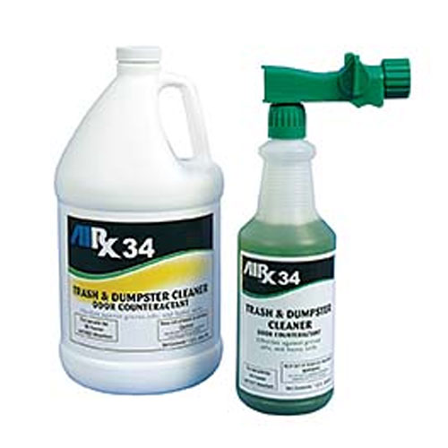 AIRX RX34 Trash & Dumpster Cleaner Odor Counteractant Gallon SKU#RX34-1G, Bullen AIRX RX34 Trash & Dumpster Cleaner Odor Counteractant Gallon SKU#RX34-1G