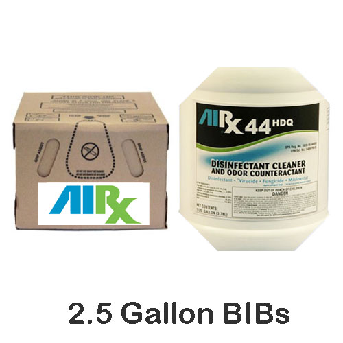AIRX RX44 HDQ Hospital Disinfectant Cleaner Odor Counteractant BIBs SKU#RX44HDQ-BIB, Bullen AIRX RX44 HDQ Hospital Disinfectant Cleaner Odor Counteractant BIBs SKU#RX44HDQ-BIB