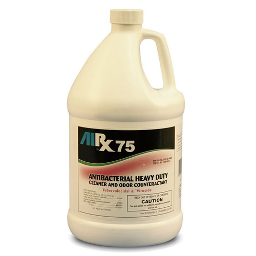 AIRX RX75 Antibacterial Cleaner & Odor Counteractant Gallons SKU#RX75-4G, Bullen AIRX RX 75 Antibacterial Cleaner & Odor Counteractant Gallons SKU#RX75-4G