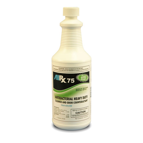 AIRX RX 75 Herbal Antibacterial Cleaner And Odor Counteractant Quarts SKU#RX75-HERBAL-12Q, Bullen AIRX RX 75 Herbal Antibacterial Cleaner And Odor Counteractant Quarts SKU#RX75-HERBAL-12Q