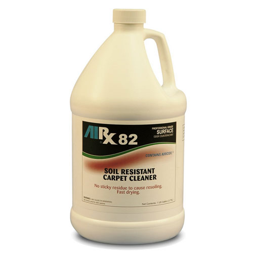 AIRX RX82 Soil Resistant Carpet Cleaner Gallons SKU#RX82-4G, Bullen AIRX RX 82 Soil Resistant Carpet Cleaner Gallons SKU#RX82-4G