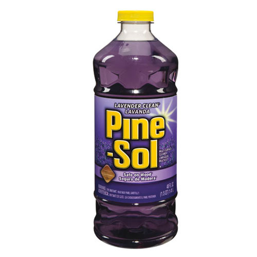 Pine-Sol Lavender All Purpose Cleaner 48 Oz SKU#CLO40272, Clorox Professional Pine-Sol Lavender All Purpose Cleaner 48 Oz SKU#CLO40272