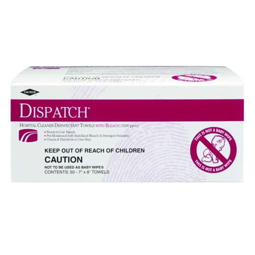 Caltech Dispatch Pro Disinfectant Wipes 50 Wipe Packs SKU#CLO69101, Clorox Caltech Dispatch Pro Disinfectant Wipes 50 Wipe Packs SKU#CLO69101