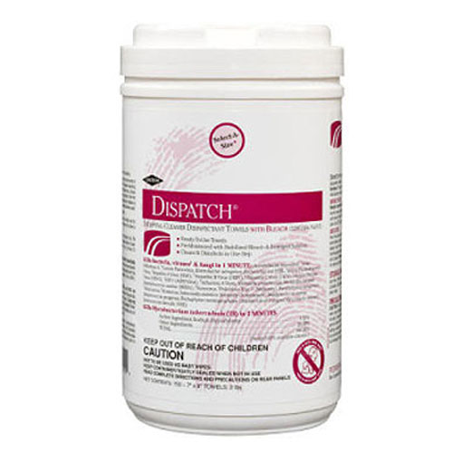Caltech Dispatch Pro Disinfectant Wipes 150 Wipe Packs SKU#CLO69150, Clorox Caltech Dispatch Pro Disinfectant Wipes 150 Wipe Packs SKU#CLO69150