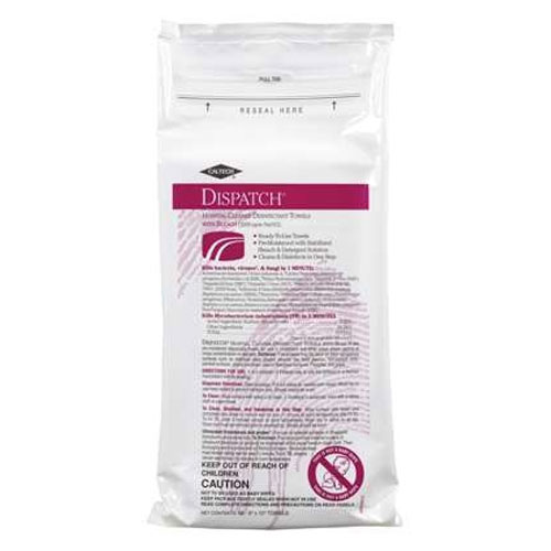 Caltech Dispatch Pro Disinfectant Wipes 60 Wipe Packs SKU#CLO69260, Clorox Caltech Dispatch Pro Disinfectant Wipes 60 Wipe Packs SKU#CLO69260
