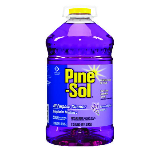 Pine-Sol Lavender All Purpose Cleaner 144 Oz SKU#CLO97301, Clorox Professional Pine-Sol Lavender All Purpose Cleaner 144 Oz SKU#CLO97301